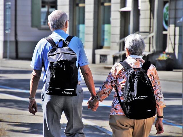 Senior Citizens Enjoying Broadband Internet